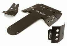 Aluminum Alloy Skid Plate Set for Axial 1/10 RR10 Bomber 4WD