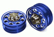 Billet Machined Alloy Front Wheel for Tamiya 1/14 Scale Tractor Trucks