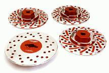 Alloy 44mm Brake Disc 12mm Hex +3 Offset for 1/10 Size RC Drift