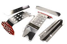 Metal Complete Skid Plate Kit for Traxxas X-Maxx 4X4