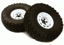 Realistic Spoke Off-Road 1.9 Size Wheel & All Terrain Tire (2) (O.D.=118mm)