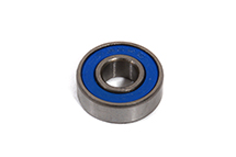 Ball Bearing 6 x 15 x 5 Unflanged Rubber Sealed (1) each