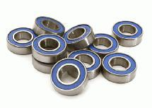 Low Friction Blue Rubber Sealed Ball Bearings (10) 8x16x5mm for RC Vehicles