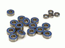 Low Friction Blue Rubber Sealed Bearings (19) Set for Traxxas 1/10 Stampede 2WD