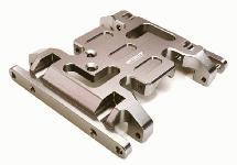 Billet Machined Alloy Center Skid Plate for Axial SCX10 II w/ LCG Transfer Case