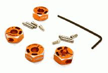 12mm Hex Wheel (4) Hub 6mm Thick for 1/10 Traxxas, Axial, Tamiya, TC & Drift