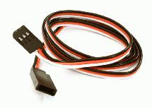 RX-Futaba Type Extension 750mm 22AWG Servo Wire