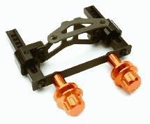 Adjustable Rear Body Mount & Post Set for Traxxas 1/10 4-Tec 2.0