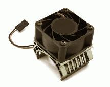 36mm Motor Heatsink+40x40mm Cooling Fan 17k rpm for Most 1/10 On-Road & Off-Road