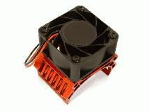 42mm Motor Heatsink+40x40mm Cooling Fan 17k rpm for 1/10 Summit & E-Revo