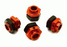 Billet Machined 17mm Wheel Adapters for Arrma Kraton 6S BLX Brushless Truggy