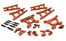 Billet Machined Alloy Suspension Kit for Traxxas 1/10 Rustler 4X4