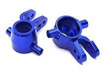 Billet Machined Steering Knuckles for Traxxas 1/10 Rustler 4X4