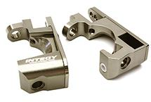 Billet Machined Alloy Caster Blocks for Traxxas 1/10 Rustler 4X4