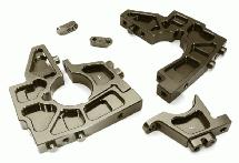 Billet Machined Front Bulkhead Set for Losi 1/5 Desert Buggy XL-E