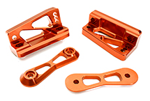 Billet Machined Rear Wing Mount Upper Bracket for Losi 1/5 Desert Buggy XL-E