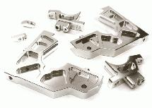 Billet Machined Rear Bulkhead Set for Losi 1/5 Desert Buggy XL-E