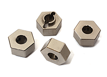 Billet Machined Wheel Hex (4) for Arrma 1/10 Granite Voltage 2WD Mega Truck