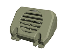 Speaker Box 8ASS-P1007 Green for HG-P801 1/12 8X8 RC Military Truck