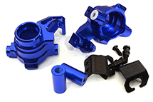 Snowmobile & Sandmobile Option Front Steering Blocks for Traxxas 1/10 Maxx