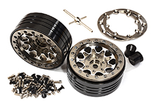 Billet Machined Alloy Beadlock Wheels for Element RC 1/10 Scale Enduro Sendero