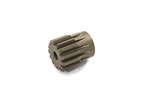 Billet Machined 32 Pitch Pinion Gear 13T, 3.17mm Bore/Shaft for Brushless R/C