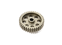 Billet Machined 48 Pitch Pinion Gear 38T, 3.17mm Bore/Shaft for Brushless R/C