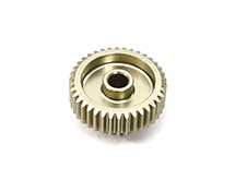 Billet Machined 64 Pitch Pinion Gear 38T, 3.17mm Bore/Shaft for Brushless R/C
