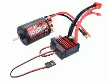 Surpass Hobby Crawler 550 Size 10T 5-Slot Brush Motor w/ BCD80A ESC
