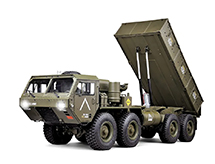 HG-P803A-PRO 8X8 Military Truck ARTR w/2.4GHz 16C Remote, Sound & Light Upgrades