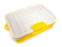 Realistic Model Scale Plastic Luggage Storage Case 117x83x38mm for 1/10 Crawler