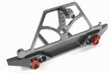 Alloy Machined Realistic Rear Bumper for 1/10 Scale Crawler w/ 43mm Mount