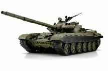 1/16 Scale Russian T72 Tank, 2.4GHz Remote Control Model HL3939-1Upg 6.0