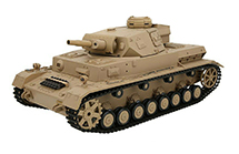 1/16 Scale German Panzer IV Type F Tank 2.4GHz Remote Control Model HL3858-1 6.0