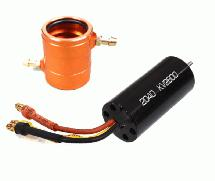 High Performance Water Cooling 2600kV Brushless Motor 2040 Size for RC Boats