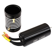 High Performance Water Cooling 3300kV Brushless Motor 2960 Size for RC Boats