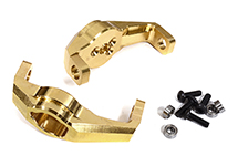 Brass Alloy 57g Each Caster Blocks for Traxxas TRX-4 Scale & Trail Crawler