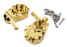 Brass Alloy 73g Each Front Inner Portal Drive Housings for Traxxas TRX-4 Crawler