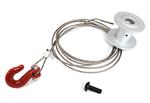 25T Servo-to-Winch Conversion Kit for Traxxas 1/10 TRX-4 Trail Crawler