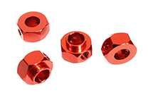 12mm Hex Wheel (4) Hub Alloy 8mm Thick for Traxxas TRX-4 Scale & Trail Crawler
