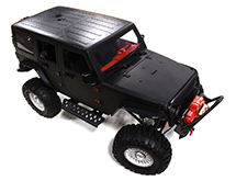 Realistic 1/10 Custom Scale Off-Road Crawler JW10-S 2.4GHz Radio Control RTR
