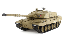 1/16 Scale British Challenger II Tank, 2.4GHz Remote Control Model HL3908-1 6.0