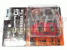TOMY BitChar-G Toyota Celica Red Body Set