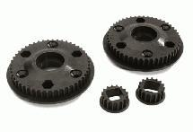 Muchmore Racing Motor Gear 16T & Belt Gear 48T for Off-Road CTX Starter Box Pro