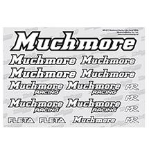 Muchmore Racing Muchmore Racing Color Decal White