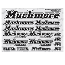 Muchmore Racing Muchmore Racing Color Decal Black