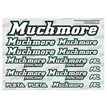 Muchmore Racing Muchmore Racing Color Decal Green
