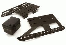 Alloy Side Plates, Side Steps & Plastic Receiver Box for Axial 1/10 SCX10 II