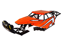 Plastic Molded Roll Cage Body Set w/ Accessories for HPI 1/5 Baja 5B & 5B2.0