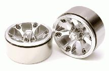 High Mass Beadlock Aluminum 1.9 Wheels Spoke-6 Type C for 1/10 Scale Crawler